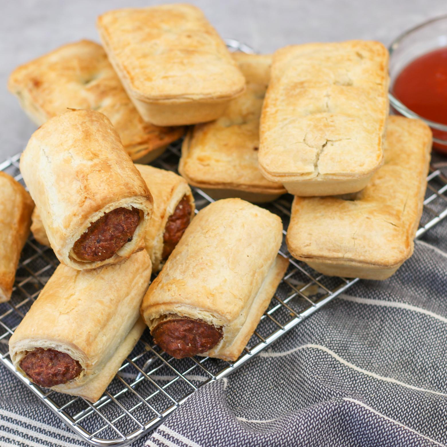 Steak Pie & Sausage Roll - 8 Duo Pack - SnapFresh
